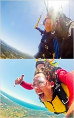 Did I mention…I recently jumped out of a plane?!