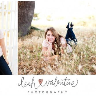 female senior portraits at clairmont lavender farms in solvang, ca