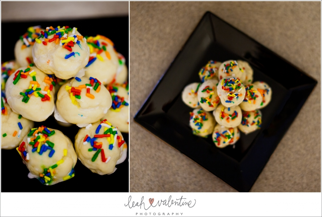 Italian Christmas Cookies - Leah Valentine Photography