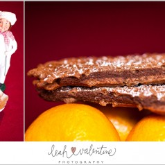 Chocolate Peppermint Pizzelles - Leah Valentine Photography