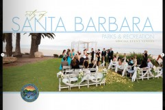 Santa Barbara Parks & Recreation Wedding Locations Brochure - Leah Valentine Photography