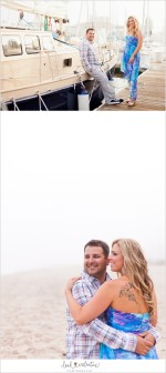 Santa Barbara Harbor Engagement Portraits | Sneak Peek!