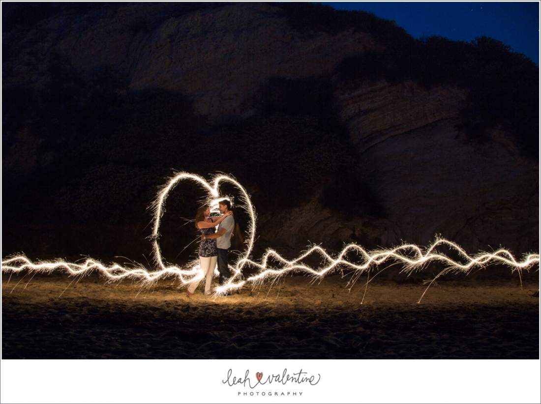 sparkler portraits at Hendry