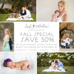 Fall Portraits Special ~ 50% Sitting Fees!