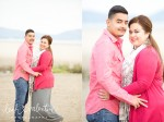 Leadbetter Beach Engagement Portraits | Jose & Flor