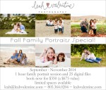 Santa Barbara Fall Family Portraits Special!